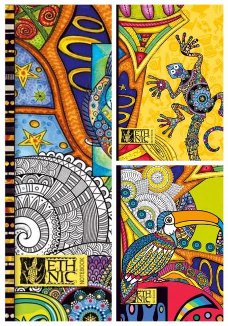 =Блокнот Мікро ембоссінг, формат В5, 80 аркушів, дизайн - 17116-17118
