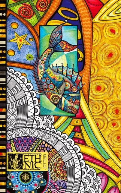 #Блокнот Мікро ембоссінг, формат В6, 80 аркушів, дизайн - 1701-1708