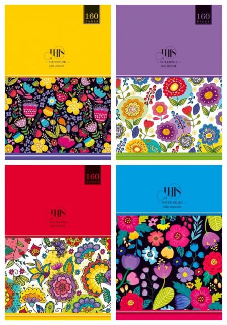 #Блокнот Мікро ембоссінг, формат В6, 80 аркушів, дизайн -  17134,17135,17136,17215