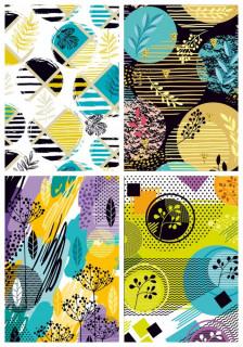 #Блокнот Мікро ембоссінг, формат 125х200 мм, 80 аркушів, дизайн - 18266-18269