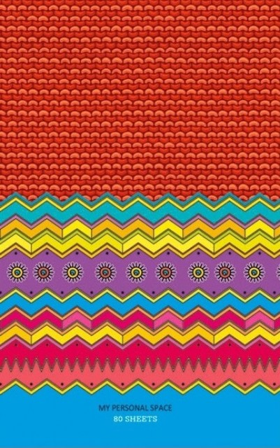 ч.а.Блокнот Мікро ембоссінг, формат В6, 80 аркушів, дизайн -  17138-17141