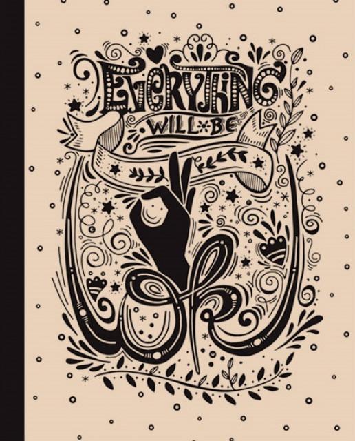 #Блокнот 7БЦ з обкладинкою Крафт, формат 165х238 мм, 80 листів, дизайн - 18382,18384,18387,18389