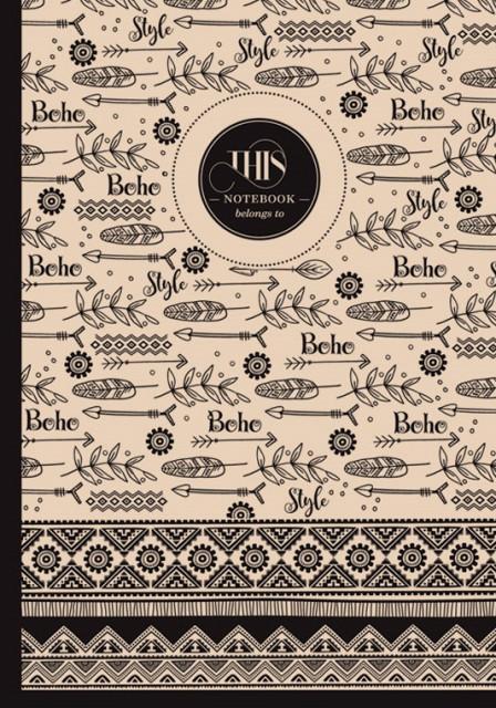 #Блокнот 7БЦ з обкладинкою Крафт, формат 165х238 мм, 80 листів, дизайн -  18458-18461