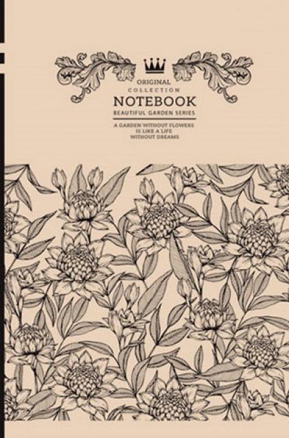 #Блокнот 7БЦ з обкладинкою Крафт, формат 215х285 мм, 80 листів, дизайн -  18378-18381