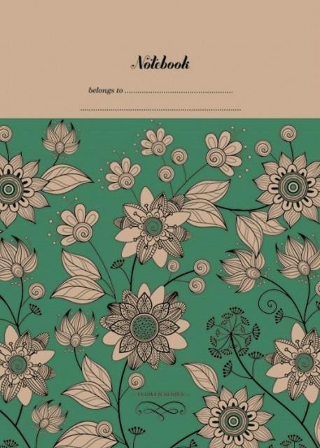 =Блокнот 7БЦ з обкладинкою Крафт, формат 125х200 мм, 120 аркушів, дизайн -1857-1860