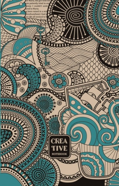 =Блокнот 7БЦ з обкладинкою Крафт, формат 125х200 мм, 80 аркушів, дизайн -1845-1848