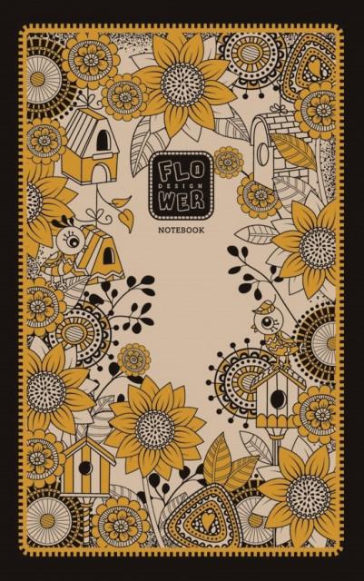 =Блокнот 7БЦ з обкладинкою Крафт, формат 143х197 мм, 80 аркушів, дизайн -1865-1868