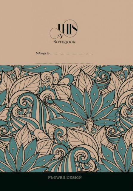 =Блокнот 7БЦ з обкладинкою Крафт, формат 165х238 мм, 120 аркушів, дизайн - 1849-1852