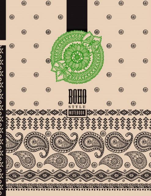 #Блокнот 7БЦ з обкладинкою Крафт, формат 215х285 мм, 80 аркушів, дизайн - 18242-18245
