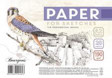 Папір для Ескізів, папір щільністю 190 г / м2, формат А2 ( 415х590 мм), 20 аркушів, в пачці з етикеткою