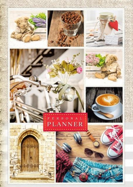 Щоденник недатований 7БЦ,  формат 137х197 мм, 320 сторінок, блок  Укр.  мовою, дизайн - 18330