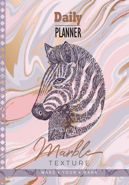 Щоденник недатований 7БЦ, ламініція Вельвет, формат 137х197 мм, 320 сторінок, блок  Укр.  мовою, дизайн - 18123