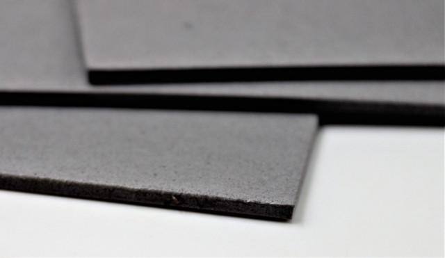 Набір кольорового ЕВА матеріалу (Фоаміран) товщина 2,0 мм, розмір 210х297 мм, 5 аркушів, дизайн EVA-021, Сірий