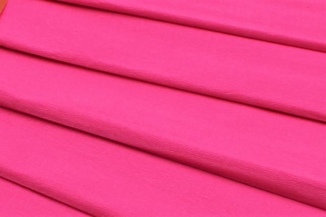 Папір гофрований, розмір 50х200 см, 75 %, 10 штук в упаковці, колір  Рожевий