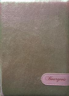 (.) Блокнот, формат A5, 80 аркушів, обкладинка зі штучної шкіри, дизайн - N8982
