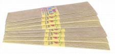 Папір гофрований Перламутровий , розмір 50х200 см,  10 штук в упаковці, колір  Жовтий