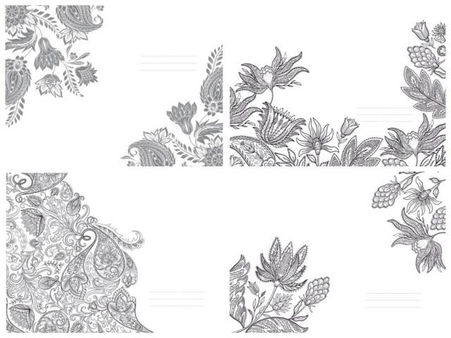 #  Блокнот  Твердий перепліт з Матовим  ламінуванням,  розмір 143х210 мм, 80 аркушів, дизайн -19475-19478