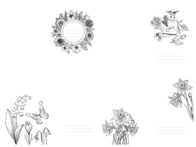 #  Блокнот  Твердий перепліт з Матовим  ламінуванням,  розмір 143х210 мм, 80 аркушів, дизайн -19508-19511