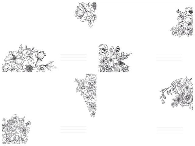 #  Блокнот  Твердий перепліт з Матовим  ламінуванням,  розмір 143х210 мм, 80 аркушів, дизайн -19512-19515