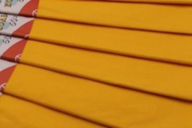 Папір гофрований, розмір 50х200 см, 100 %, 10 штук в упаковці, колір  Темно-жовтий