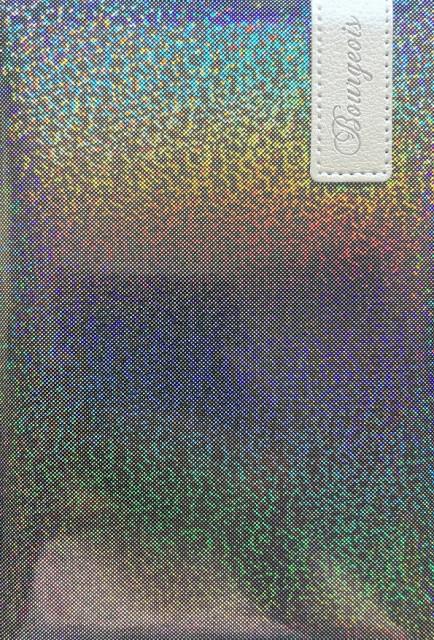 # Блокнот, формат A5, 80 аркушів, обкладинка тверда  зі штучної шкіри , дизайн - N9013