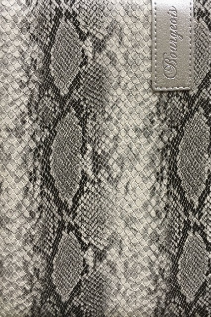 # Блокнот, формат A5, 80 аркушів, обкладинка тверда  зі штучної шкіри , дизайн - N9027