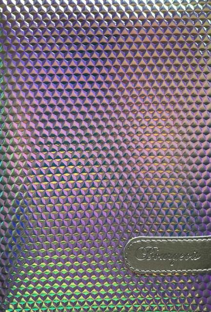 # Блокнот, формат A5, 80 аркушів, обкладинка тверда  зі штучної шкіри , дизайн - N9037