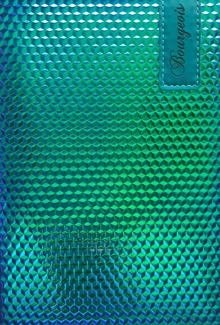 # Блокнот, формат A5, 80 аркушів, обкладинка тверда  зі штучної шкіри , дизайн - N9038