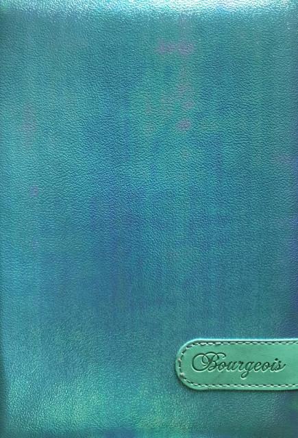 # Блокнот, формат A5, 80 аркушів, обкладинка тверда  зі штучної шкіри , дизайн - N9063