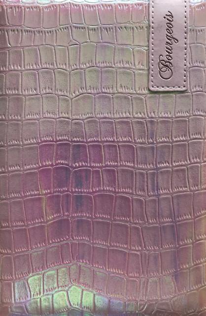 # Блокнот, формат A5, 80 аркушів, обкладинка тверда  зі штучної шкіри , дизайн - N9066