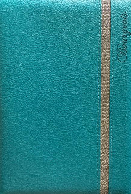 # Блокнот, формат A5, 80 аркушів, обкладинка тверда  зі штучної шкіри , дизайн - N9068