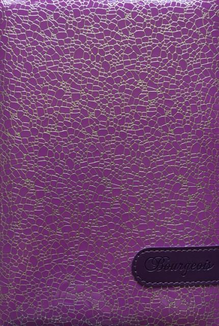 =Блокнот, формат A5, 80 аркушів, обкладинка тверда  зі штучної шкіри, дизайн - N9075