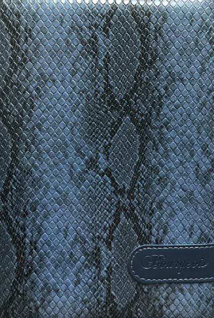 .Блокнот, формат A5, 80 аркушів, обкладинка тверда  зі штучної шкіри , дизайн - N9110