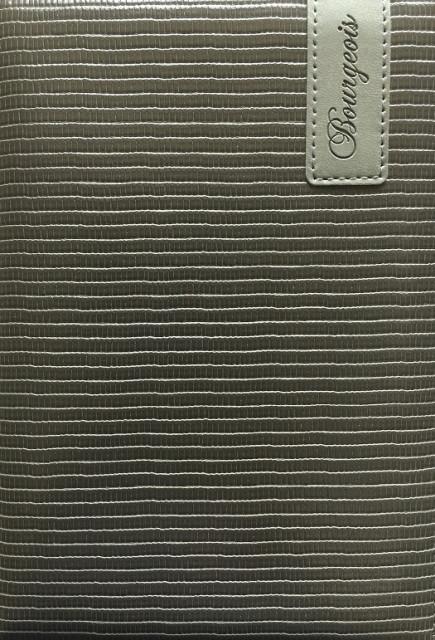.Блокнот, формат A5, 80 аркушів, обкладинка тверда  зі штучної шкіри , дизайн - N9113
