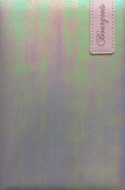 .Блокнот, формат A5, 80 аркушів, обкладинка тверда  зі штучної шкіри , дизайн - N9128