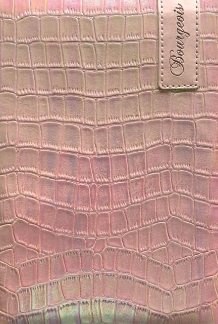 .Блокнот, формат A5, 80 аркушів, обкладинка тверда  зі штучної шкіри , дизайн - N9129