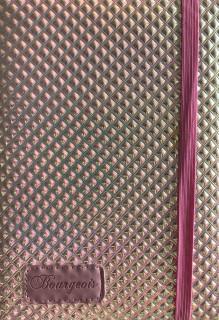 # Блокнот, формат A5, 120 аркушів, обкладинка тверда  зі штучної шкіри, дизайн - N9174