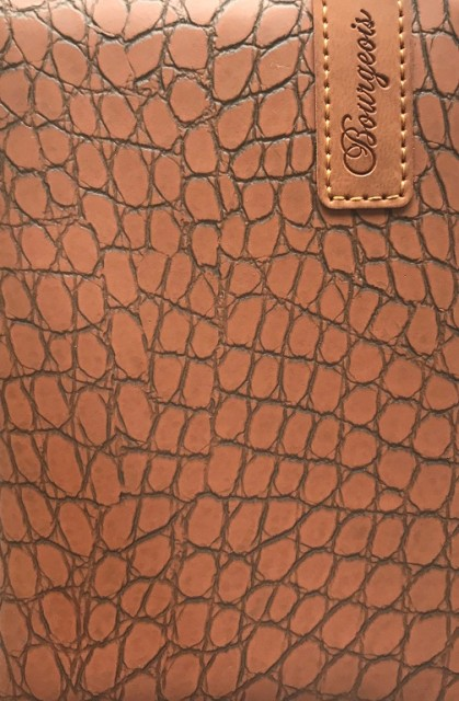 .Блокнот, формат A6, 80 аркушів, обкладинка тверда  зі штучної шкіри , дизайн - N9158