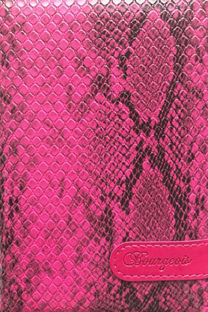 .Блокнот, формат A6, 80 аркушів, обкладинка тверда  зі штучної шкіри , дизайн - N9159