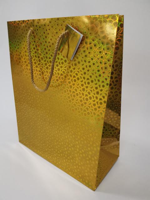 Пакет подарунковий паперовий, розмір 26х32х12 см, дизайн -GB-20203-20206