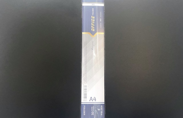 Тека з файлами, 30 файлів, А4+, 600/30мкм, дизайн - Р0061