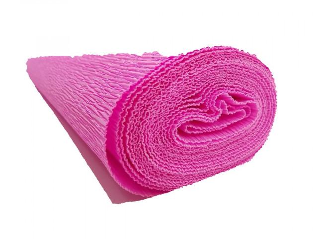 Папір гофрований, розмір 50х200 см, 150 %, 1 рулон в упаковці, FWCP-140-4,  колір Рожевый