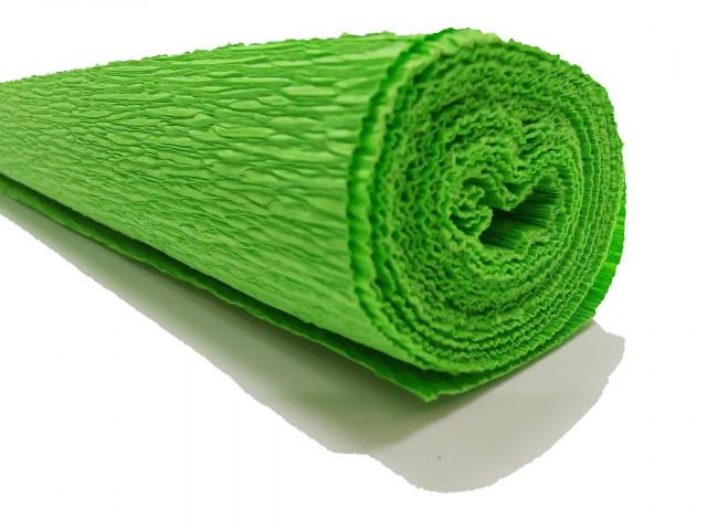 Папір гофрований, розмір 50х200 см, 150 %, 1 рулон в упаковці, FWCP-140-41,  колір Світло- Зелений