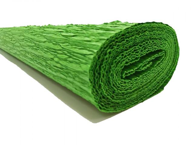 Папір гофрований, розмір 50х200 см, 150 %, 1 рулон в упаковці, FWCP-140-13,  колір  Темно-Зелений