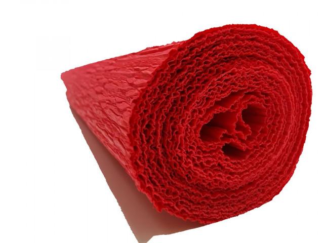 Папір гофрований, розмір 50х200 см, 230 %, 1 рулон в упаковці, FWCP-230-16,  колір  Червоний