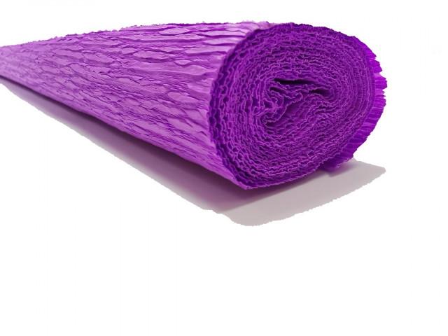Папір гофрований, розмір 50х200 см, 230 %, 1 рулон в упаковці, FWCP-230-2,  колір  Бузковий