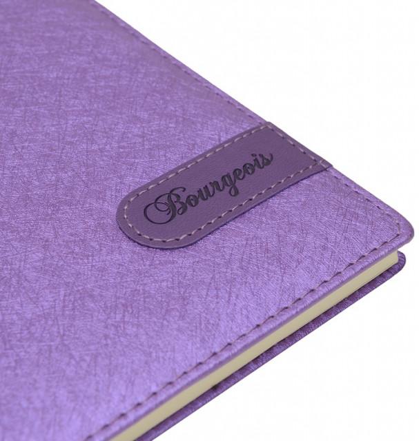 =Блокнот, формат A5, 80 аркушів, обкладинка зі штучної шкіри, дизайн - N8951