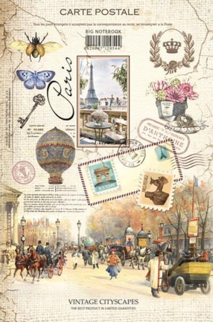 #Блокнот Інтегральна палітурка, формат А4, 160 аркушів, дизайн - 15173-15176