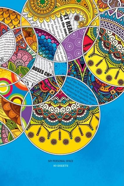 #Блокнот Мікро ембоссінг, формат А4, 80 аркушів, дизайн - 17143-17145
