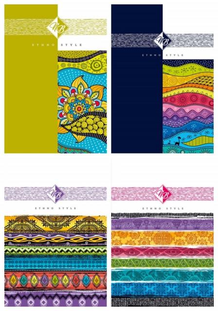 #Блокнот Мікро ембоссінг, формат 145х197 мм, 64 аркуша, дизайн - 18302-18305